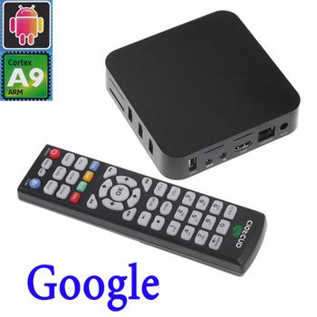 2014 EU Plug multifunctional Android 4.0 google TV Box Player  Smart tv sticks mini pc 1G RAM 4GB XBMC Wi-Fi HD ARM Cortex A9