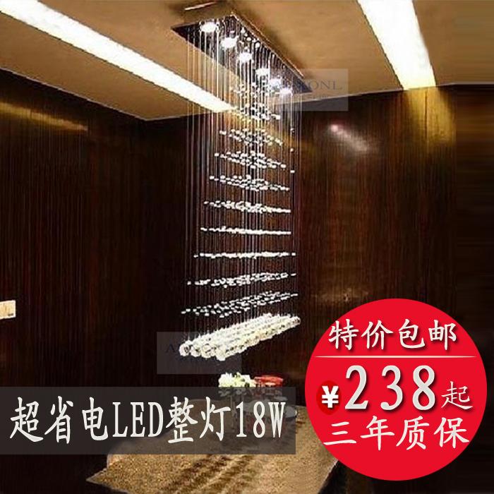 Lighting restaurant lamp pyramid crystal pendant light led crystal lamp modern brief lamps bar lamp(China (Mainland))
