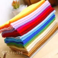 Diy patchwork fabrics soft flannelette fabric doll pure color polar fleece fabrics