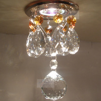 Aisle lights modern crystal lamp crystal ceiling light energy saving led spotlights a8899