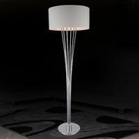 Fashion brief modern floor lamp living room lights bedroom lamp floor lamps white lamp cover