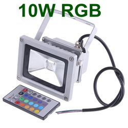 Drop shipping! 16 Color RGB Flash Landscape Wash Lighting LED Flood Led reflector Led Floodlight 110-240V +24key Remote control(China (Mainland))