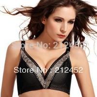 2015 High Quality Top Bra Embroidered Underwear Ladies Adjustable Bra Push Up Brassiere Women's Bra Pulling Underwear