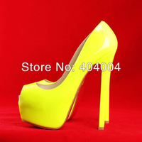 Free shipping fashion red bottom high heel pumps,wholesale sexy women shoes 14cm/16cm thin heel platform wedding shoes UK4/EU37