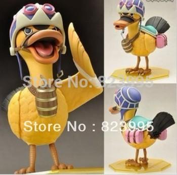 NEW    One piece  Anime peripheral  Karoo Salomon kalou duck   figure  PVC  18CM