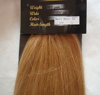Micro Loop 22inches Length Virgin Brazilian Hair Extension  100g Straight  #16 honey blonde