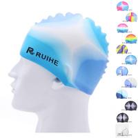 silicone waterproof swimming cap