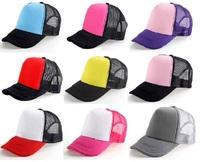Unisex Classic Trucker Baseball Golf Mesh Cap Hat -Special Colors