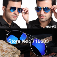 2013 Sport Wayfare Aviator New Arrival Polarized Mirrored reflective blue mirror silver mirror men's women's oversize sunglasses