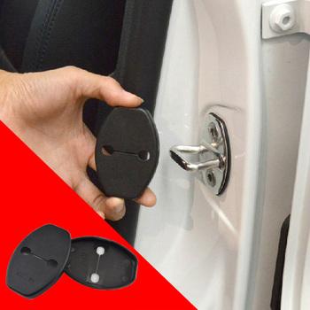 Door Striker Cover Lock Catch Protect Cover For VW Volkswagen Tiguan Golf 6 Passat Polo Skoda CC AUDI Q5 Q3