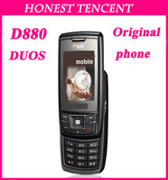 Original D880 Dual Sim Black 3M Camera Mobile Phone unlocked phone Singapore post free shipping