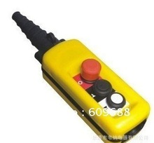 Waterproof dual 2 speeds Hoist Switch double speeds push button crane switch pendant controller(China (Mainland))