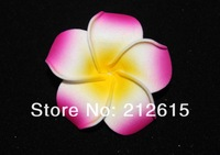 Rose color  frangipani flower, foam plumeria free shipping