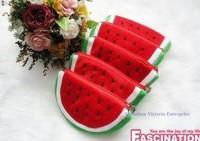 Fruit BAG Watermelon 10PCS - Plush Coin Purse & Wallet Pouch Case BAG Pendant Bag Beauty Holder Handbag