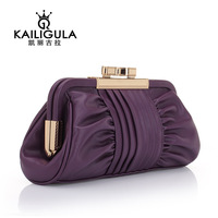 2013 women's day clutch handbag clutch fashion pleated shoulder bag female clutch bag