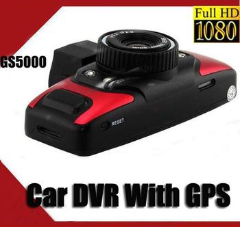 GS5000 5.0MP H.264 FULL HD 1080P Night Vision Car Camera GPS G-Sensor DVR HDMI  USD92