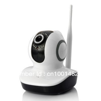 EasyN h.264 P3-V10D Megapixel webcam HD IP Camera With Pan/Tilt Security Camera System Mobile View Support 32G Card