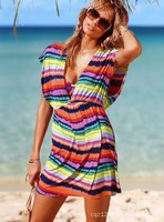 Free Shipping SEXY BEACH SWIMSUIT BIKINI COVER UP
