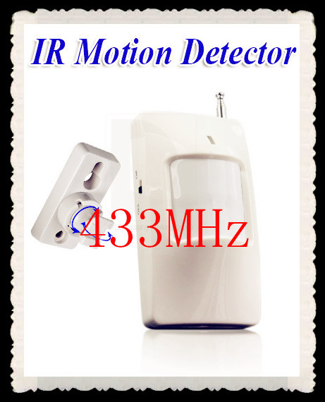 5pcs 315Mhz or 433Mhz Wireless PIR Sensor/Motion Detector For Wireless GSM/PSTN Auto Dial Home Security Alarm System(China (Mainland))