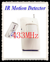 5pcs  315Mhz or 433Mhz Wireless PIR Sensor/Motion Detector For Wireless GSM/PSTN Auto Dial Home Security Alarm System