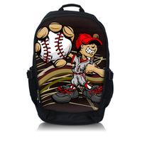 "Newest Cool Laptop Backpack Book School Sling bag Rucksack up to 15.6"" Notebook"