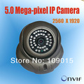POE IP digital 5.0 Megapixel HD video MP security Megapixel camera ONVIF 50m IR distance
