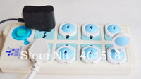 free shipping Child Baby kids Electrical Electric Socket Security Plastic Safety Safe Lock Cover plug two pin phase 6pc/set