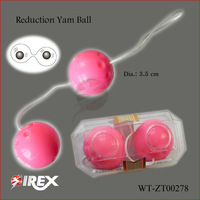 CPAM free shipping cheap adult  abs vagina toys women silicone Ben Wa Kegel Exercise Ball sexual fit care self defense products