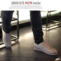 Autumn and winter 2011 men's fashion trend new arrival color block decoration shoes casual shoes skateboarding shoes