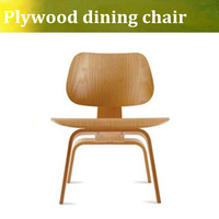 Molded Plywood Dining Chair DCW chair in plywood ,three colors for choose
