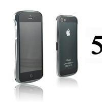 Deff cleave aluminum bumper case for iphone 5 5G Dual color skin protective cover frame retail package