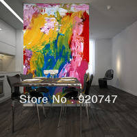 Special design background wall mural colorful
