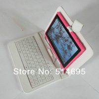 "White USB keyboard Case+Stylus+OTG For 10.1"" Toshiba Thrive AT100 AT105 Tablet Free shipping"