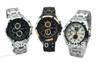 Hot Sale Stylish CURREN Sports Men Watch Stainless Steel  Adjustable Quartz Analog Wrist Watch Men's Watches Free Shipping