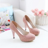 Wholesale free shipping 2013 women's solid fashion sweet sexy princess candy color platform party wedding high-heeled shoes