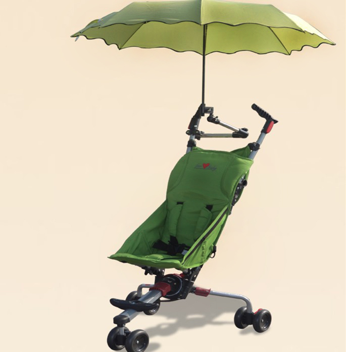 Travel three carts baby stroller baby carriage light folding umbrella car shock absorption bag free shipping(China (Mainland))