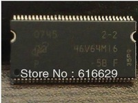 disassemble genuine MT46V64M16 5B routing upgrade 128M memory chip DDR