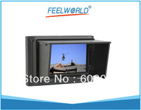"NO Blue Screen 5"" HD FPV Monitor (FPV-500A) w/ Sun Shield for FPV, aerophotography, RC model  + Free Shipping"