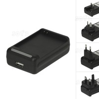 For Samsung i9300 Galaxy S3 Battery Charger with USB Port US, EU, UK and AU plug Available Free Shipping