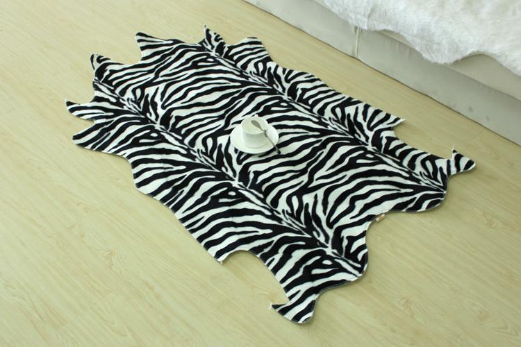 zebra wohnzimmer:Animal Print Area Rug