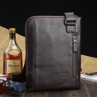 Free gift 2013 new design leather Men bag shoulder bag messenger bag leather bag high quality good style