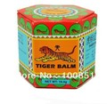 Tiger balm, big red, ointment ,Cooling Ointment Essential for pain relief &amp; insect bit, headache, herbal rub muscles pain,19.4g