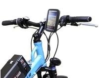 waterproof Bike Motor Handlebar Phone Holder for Samsung Galaxy note 2 N7100 waterproof pouch bag case