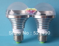 5W E27 Aluminum Shell  LED Bubble Ball Bulb Natural White /Warm White