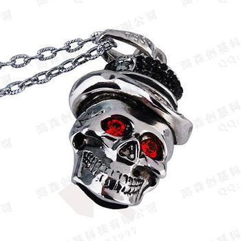 Creative Skeleton Head One Piece USB 2.0 Genuine 2GB 4GB 8GB 16GB 32GB Memory Stick Flash Drive