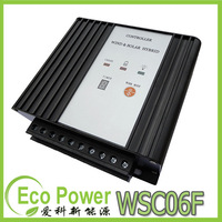 CE approved 12V/24V auto Wind Solar Hybrid Street Lamp Controller,200-600W Wind Turbine MPPT charge Mode,200WMax Pv Power