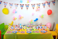 Free Shipping Birthday Party Decoratio Pirate Party Decoration Supplier for Children's Birthday Party