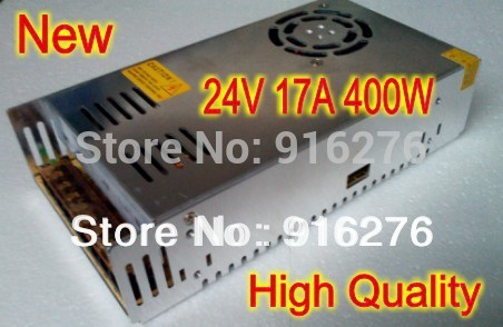 NEW 24V 17A 400W Constant Voltage AC/DC Output LED SWITCHING Switch POWER SUPPLY Adapter Driver(China (Mainland))