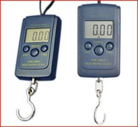 50pcs NEW  40kg 20g Portable Hanging Electronic Digital Scale 70025-50