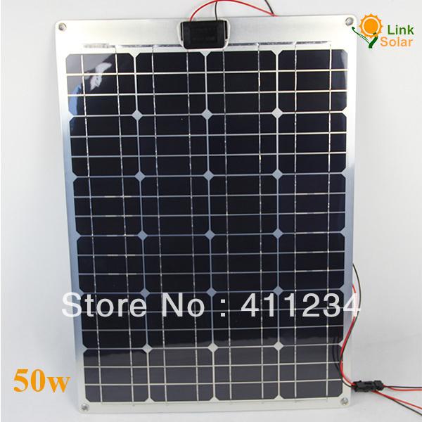 customized solar panel,mono solar panel,50w solar panel manufacturer perfect for RV,Yacht,Motorhome, Boat(China (Mainland))